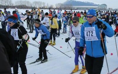 Sapporo Ski Marathon 3.2. 2019