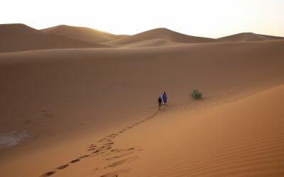 Juoksuseikkailu Saharassa, seikkailujuoksija Jukka Viljasen kanssa