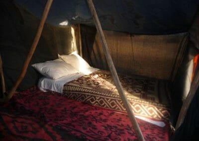 tente bed