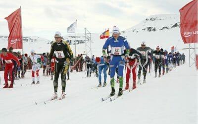 Fossavatnsgangan Ski marathon 2018